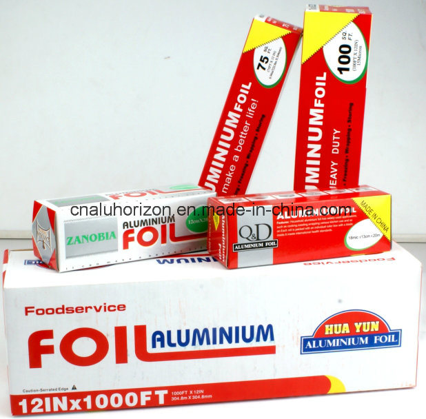 Alloy 8011 Food Grade FDA Certified Aluminum Foil Small Roll