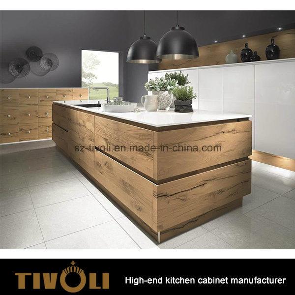 Germany Design Solid Oak Kitchen Furniture (AP051)