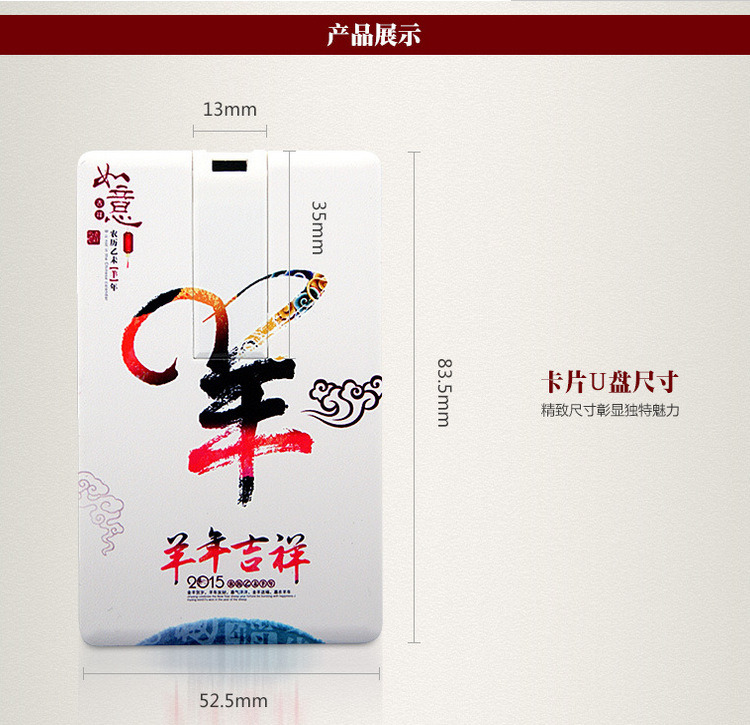 Promotional Name Card Cardiet Card USB Flash Drive Stick