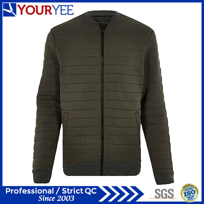 Best Winter Mens Padded Flight Quilted Bomber Jacket (YBJ115)