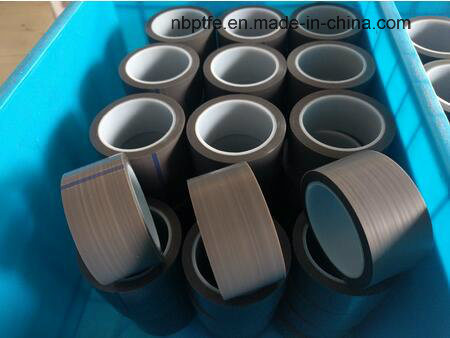 Fiberglass Coated PTFE Adhesive Tape with Released Paper