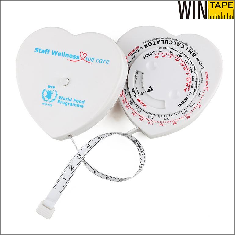 150cm Custom Healthy BMI Calculator Body Tape Measure (BMI-016)