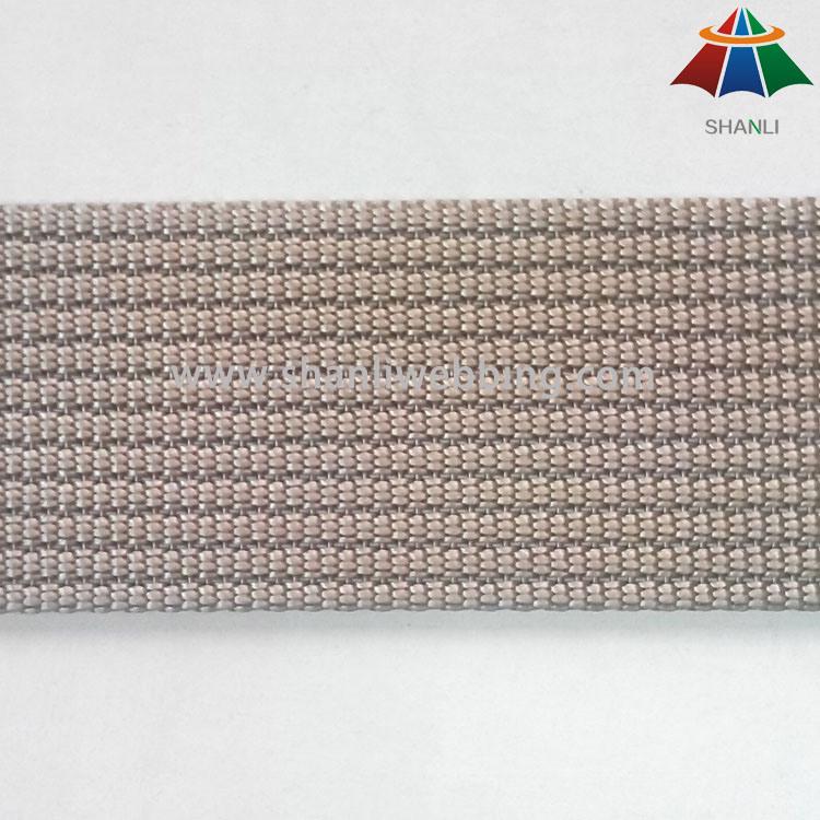 1.5 Inch Khaki 11-Pit Nylon Webbing