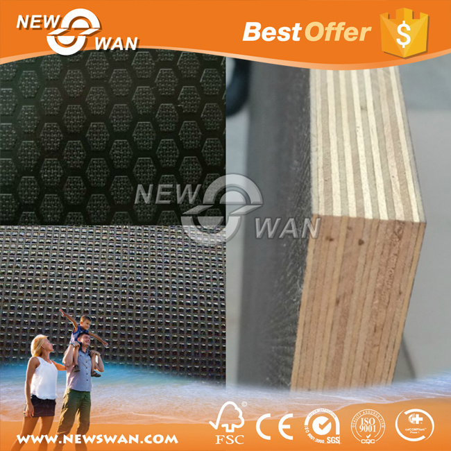 Linyi Hardwood Core 12mm 15mm 18mm Marine Plywood From China