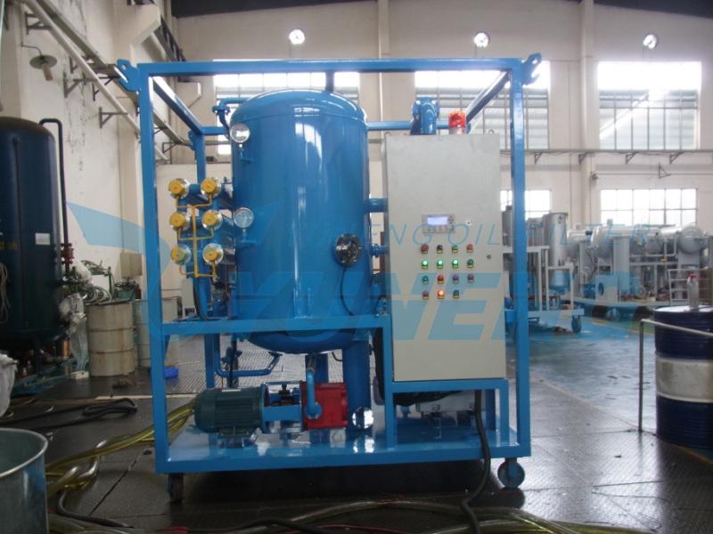 Two Stage High Vacuum Transformer Oil Filtration Machine Zja Series