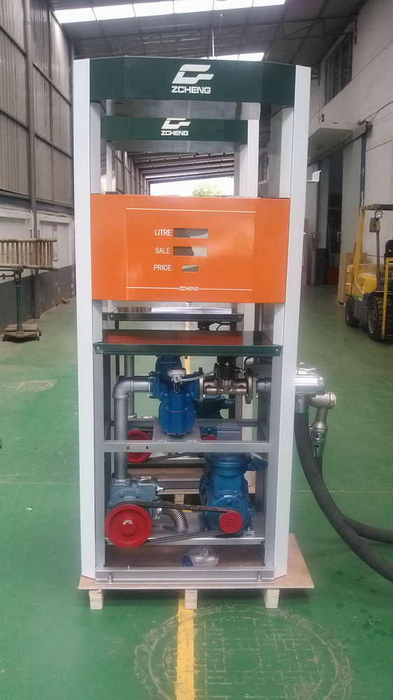 Zcheng Large Rate 300L Fuel Dispenser Single Nozzle