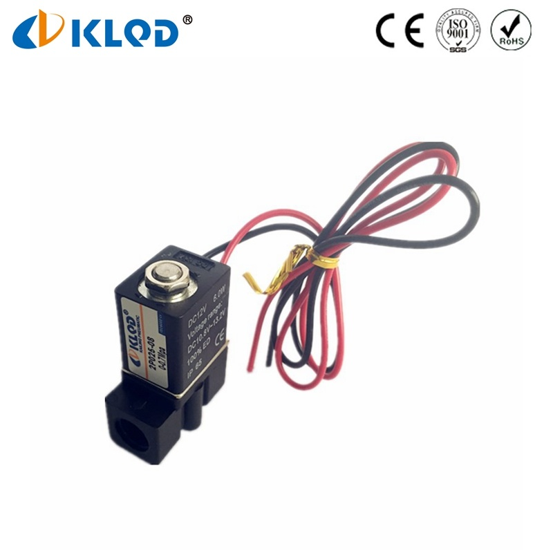 Mini Type Plastic Low Power Water Solenoid Valves in China