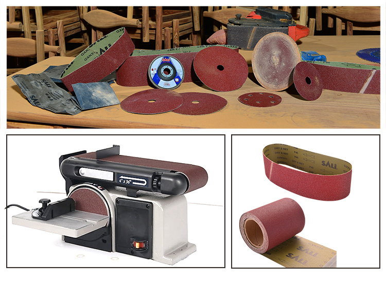 Abrasive 2X72 Sanding Belts for Wood