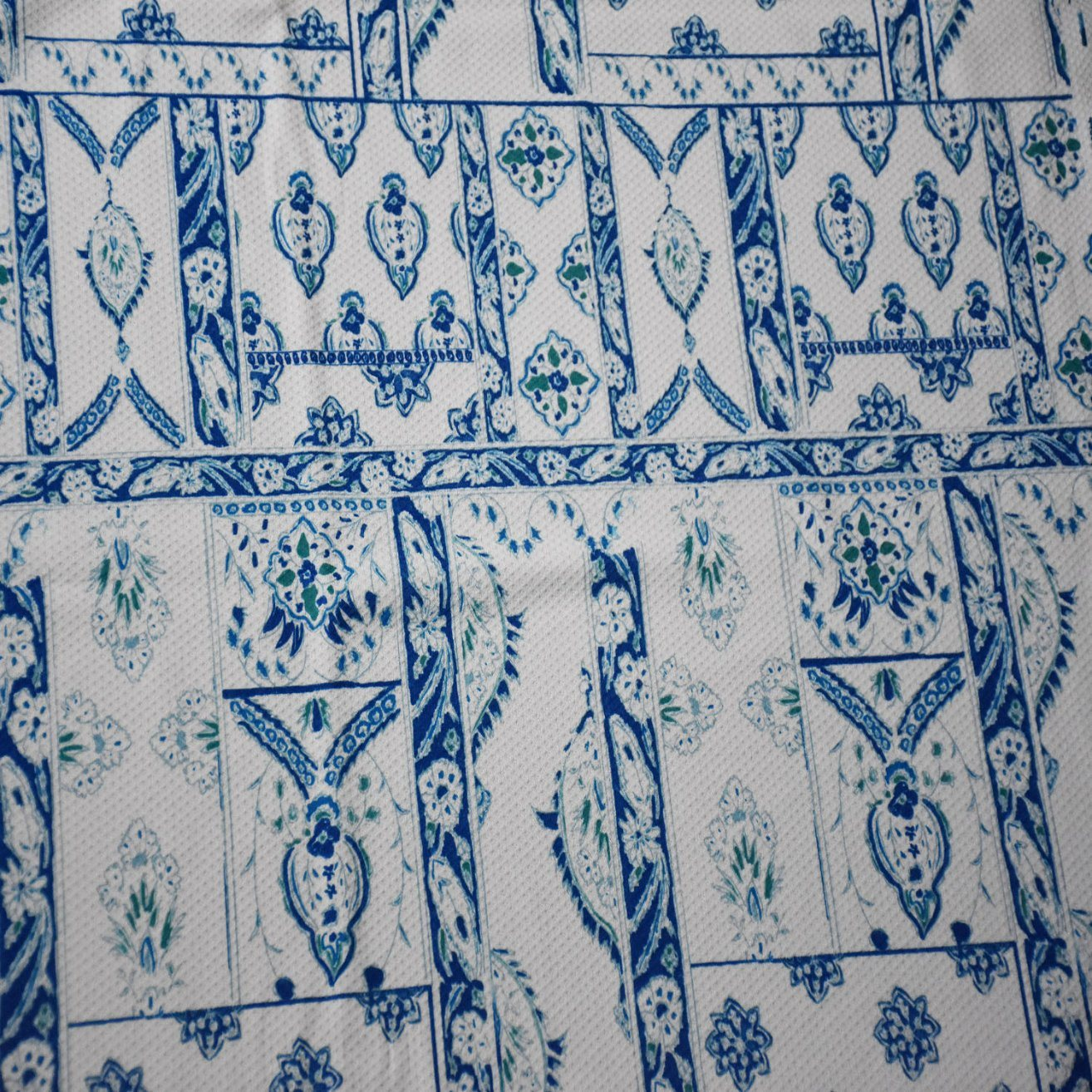 Polyester/Spandex Printed Jacquard Fabric for Clothing