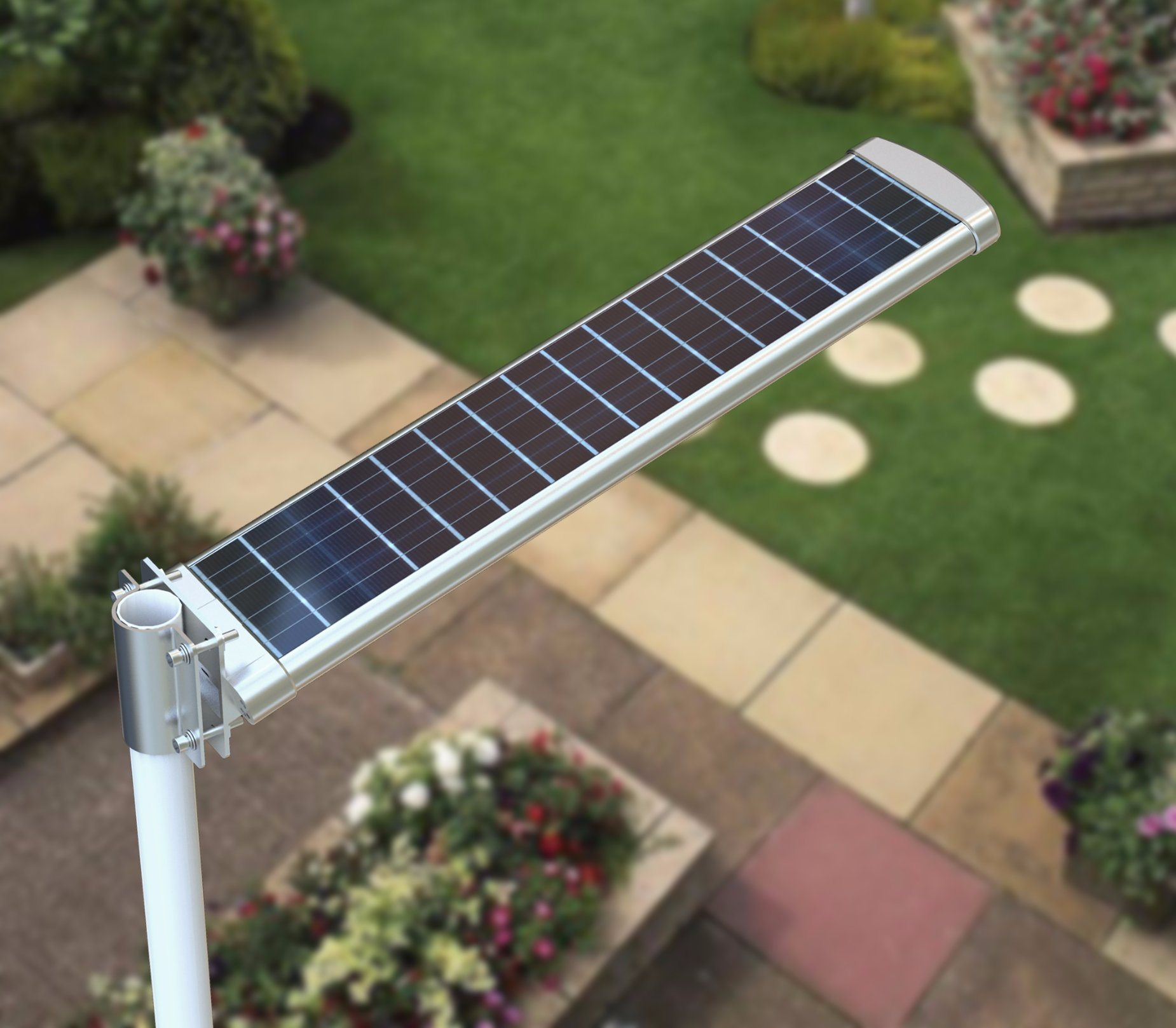 30W Multifunction All in One Solar Street Light with Pole