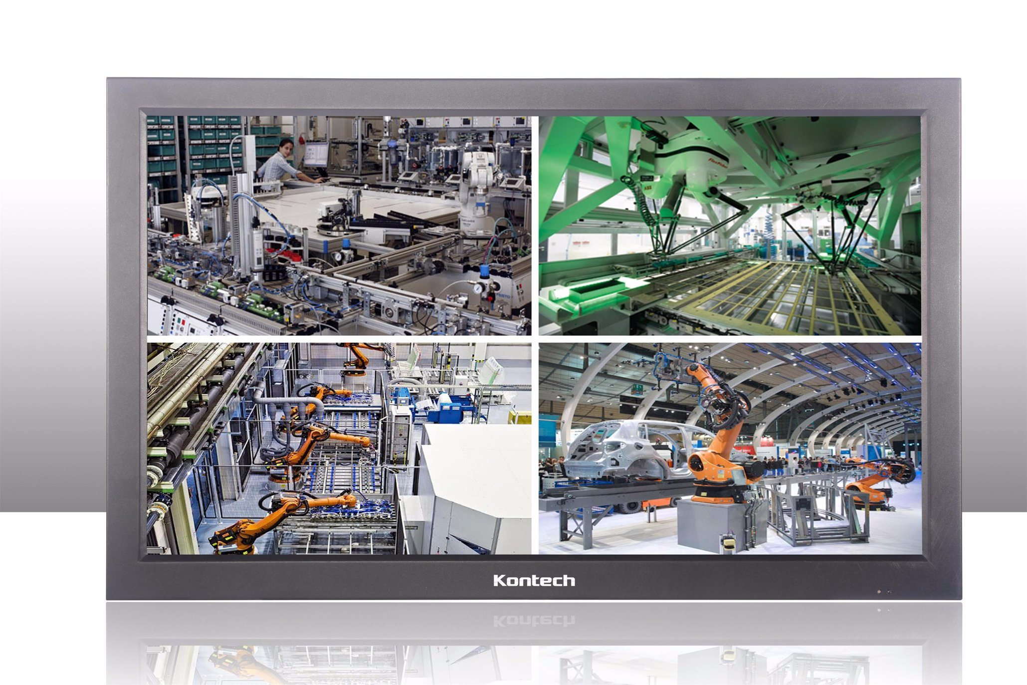 Industrial CCTV LCD Monitor, Supports Stable 7 X 24 Hours Workingtag