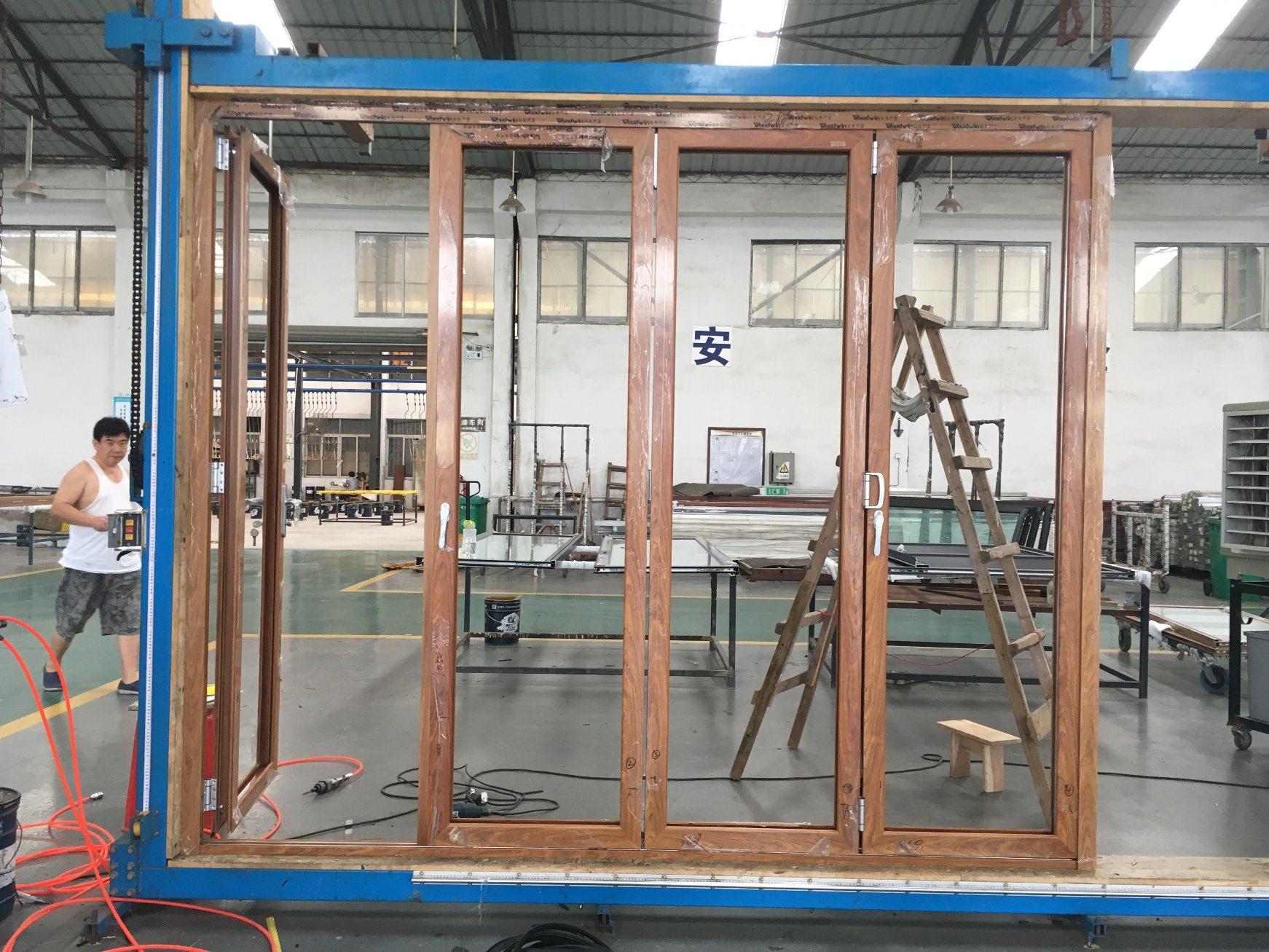 Exterior Bifold Doors. China Aluminum Alloy Folding Door Gates ...