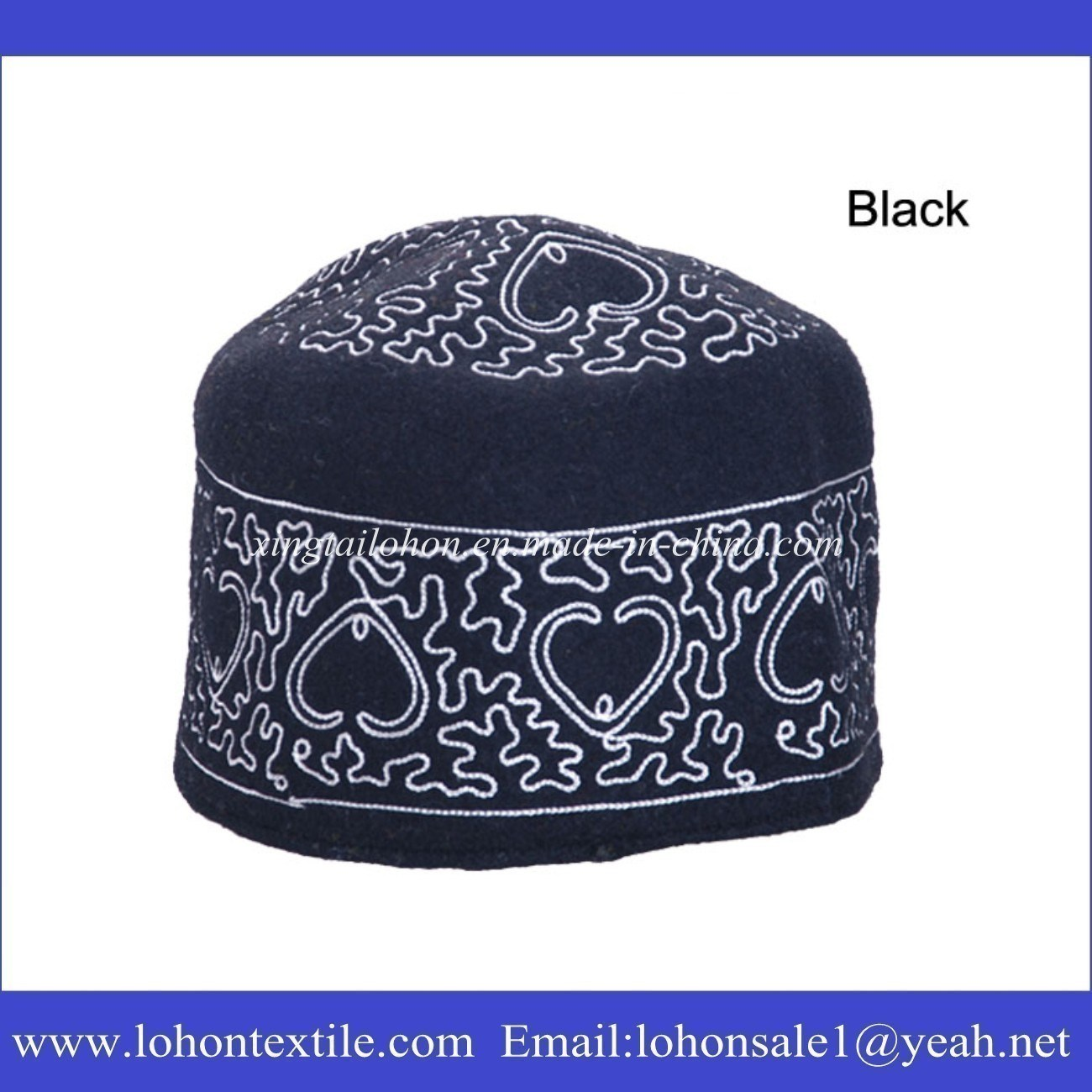 Stock Tarboosh Attoman Hat Oriental Winter Hat Crocheted Cap for Man