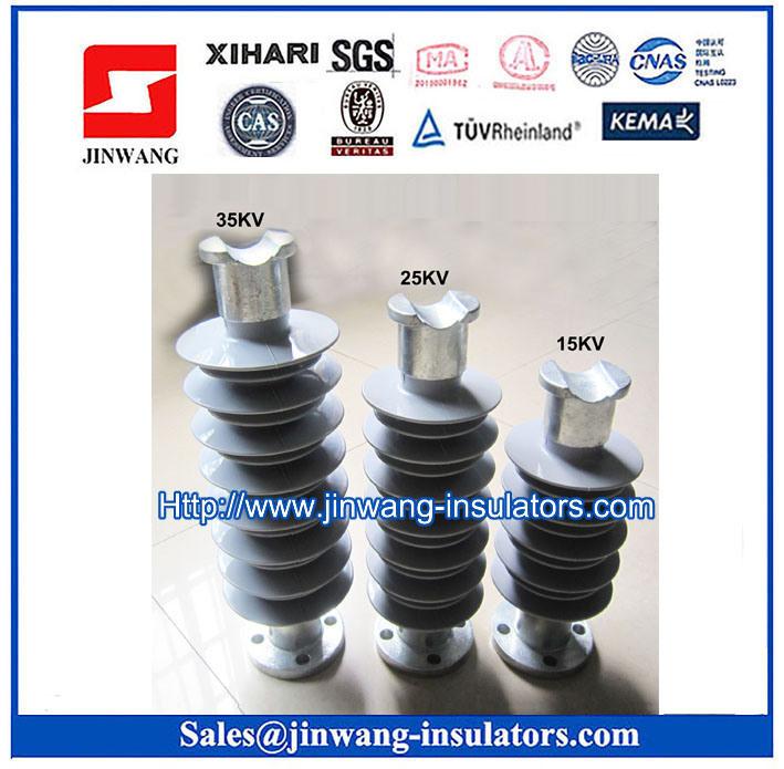 Composite Polymer Pin Insulator 15kv, 25kv, 35kv
