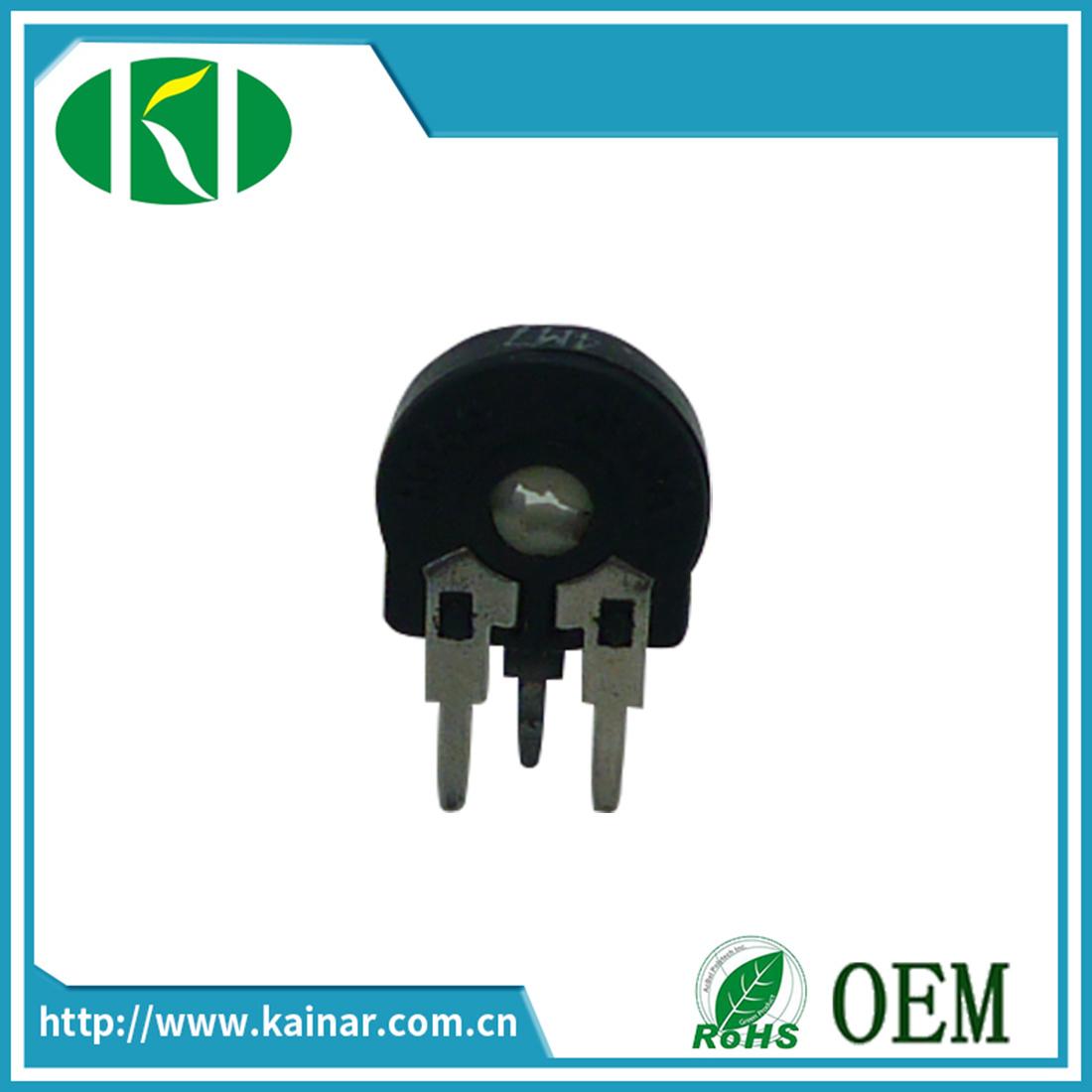 10mm Rotary Trimmer Potentiometer Piher Spain PT10-1