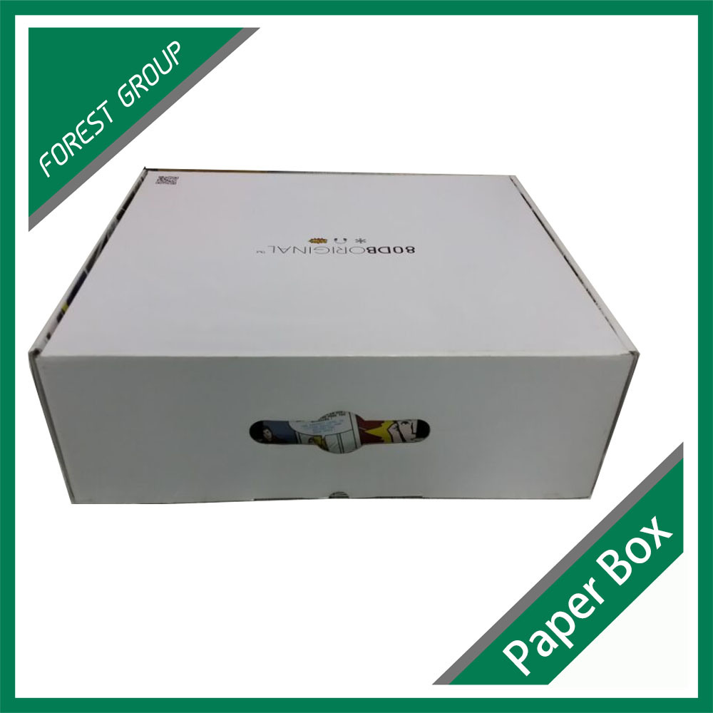 Big Paper Packaging Clothes Box/Corrugated Packaging Clothes Box (FOREST PACKING 004)