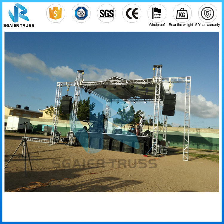 Aluminum Truss Lighting Truss Roof Truss System for Events Stage Truss Stage Equipment