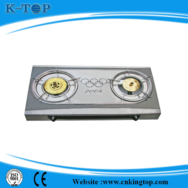 Nature Gas Gas Stove with Cast Iron Burner