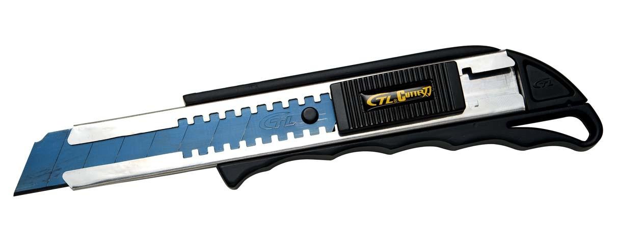 Heavy Duty 18mm Snap off Zinc Alloy Utility Cutter Knife