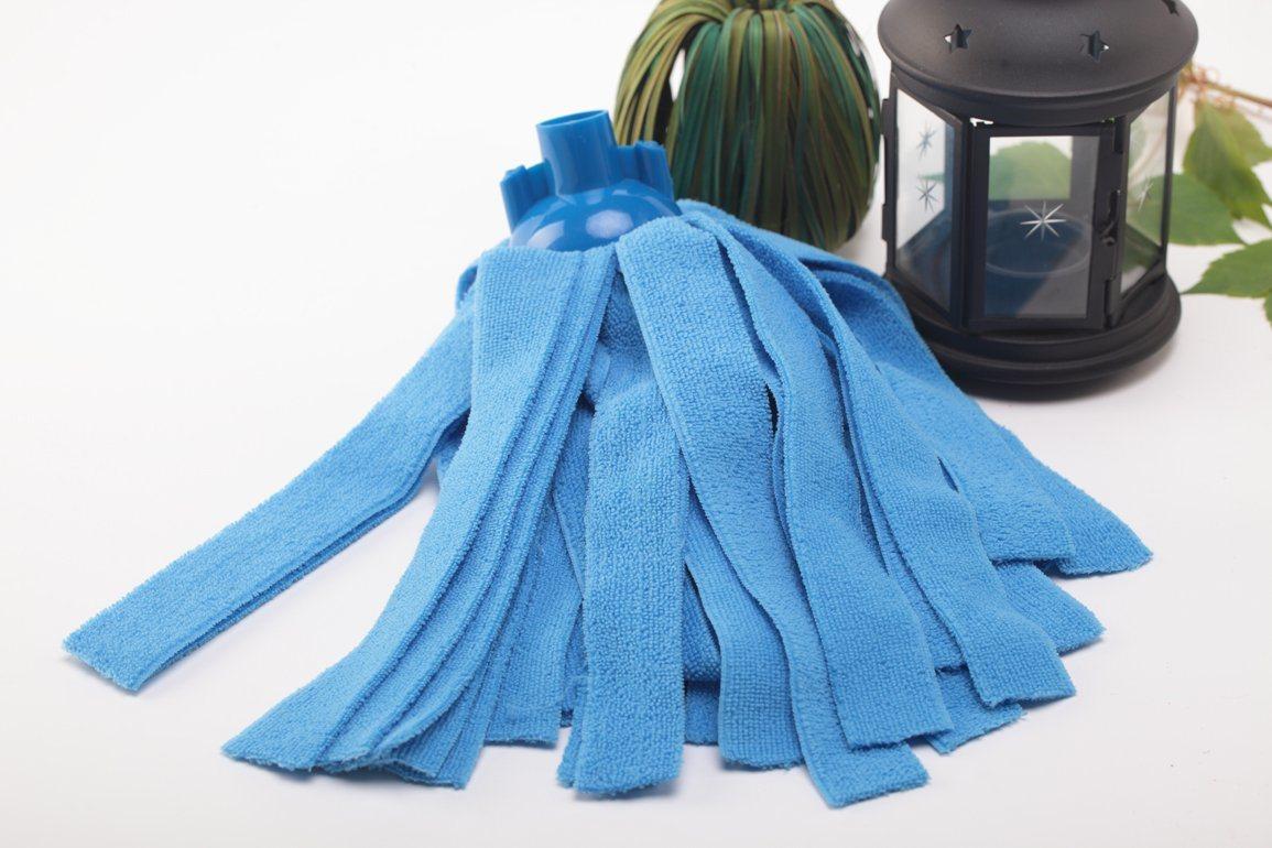 100% Microfiber Strip Mop Head