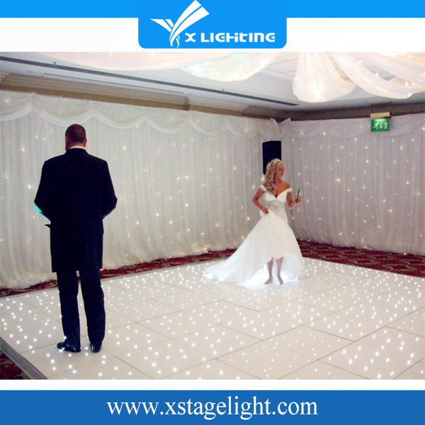 16PCS Super Bright LED RGB LED Starlit Dance Floor for Wedding Party