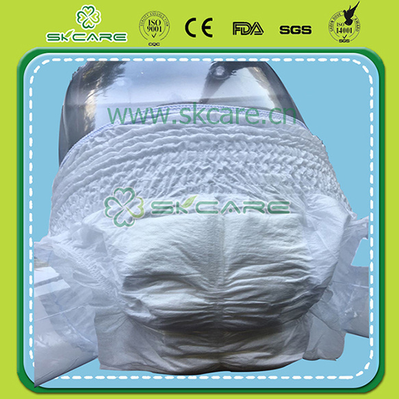 Disposable Adult Pull up with Soft and High Absorbency