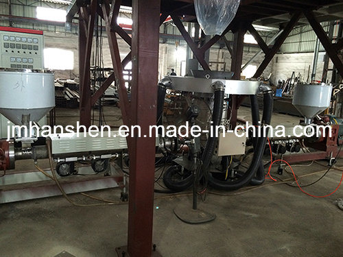Two Layers Co-Extrusion Blown Film Machine with Wind Ring
