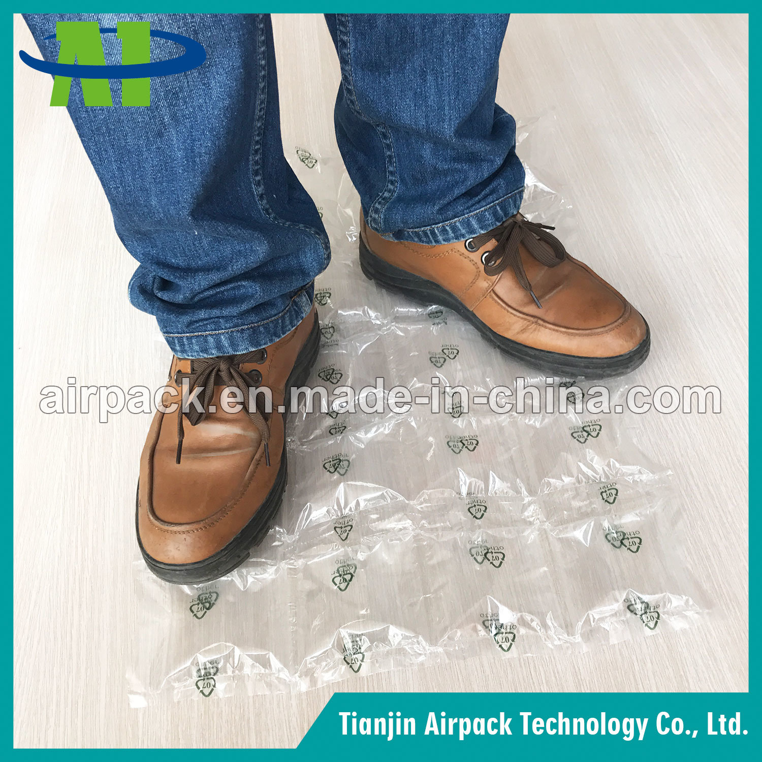 Plastic Packaging Material Air Bubble Cushion Film