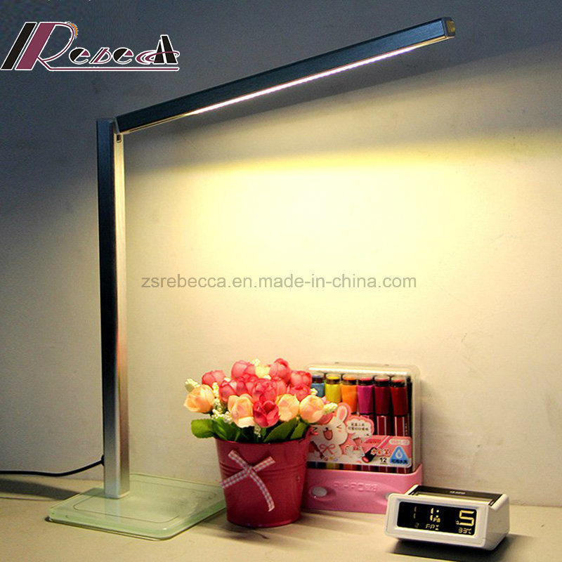 Small Foldable Portable Bedside LED Table Lamp for Reading