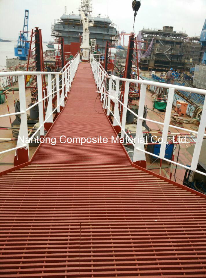 USCG Phenolic Fiberglass Grating, Pultruded/Molded Grating, FRP/GRP Grating,
