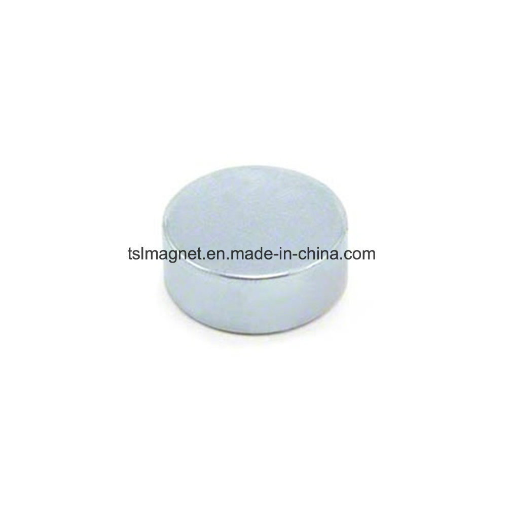 High Performance Sintered Round Permanent Neodymium Magnets