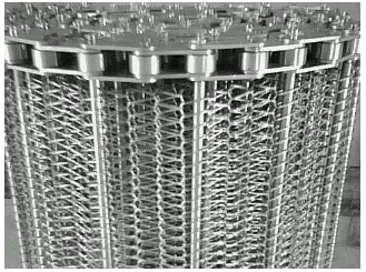 Stainless Steel Wire Conveyor Belt for Freezering Food Processing Equipment