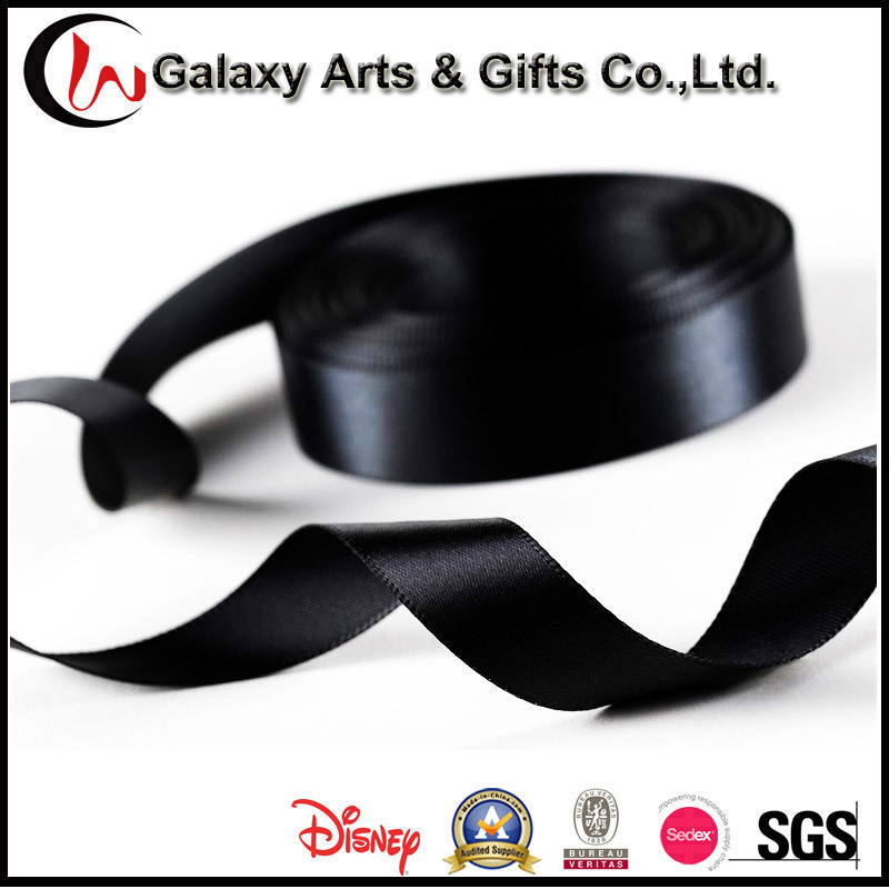 Promotion Gift Garment Accessories Webbing Curling Polyester Satin Ribbon