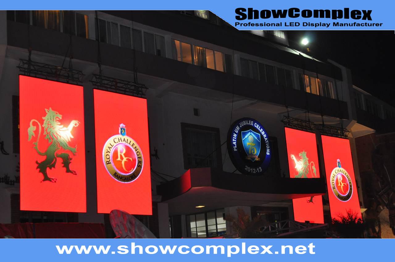 P4.81 Full Color HD Rental Outdoor LED Screen