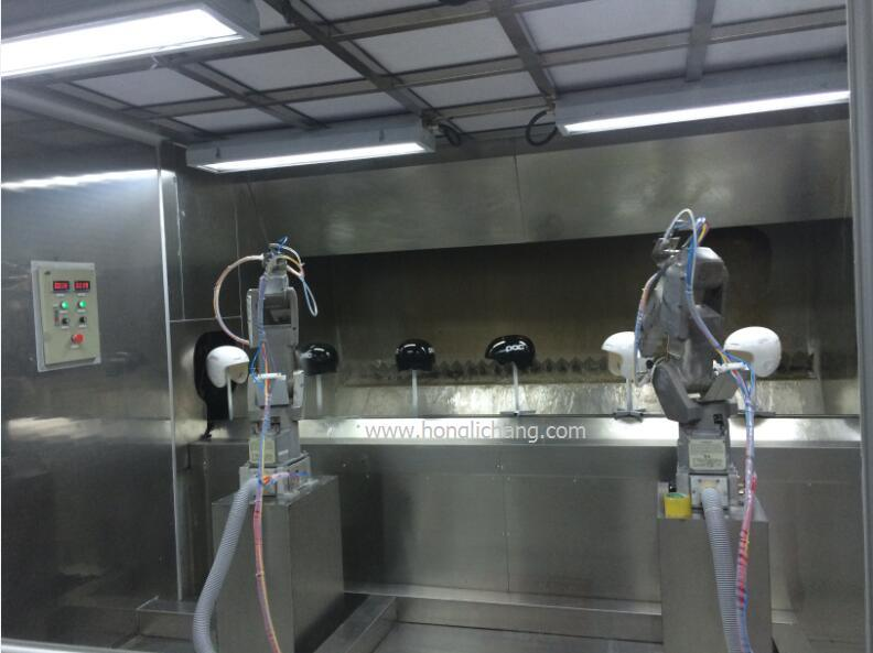 Turnkey Robot Automatic UV Spray Paint/Painting Line for Helmet