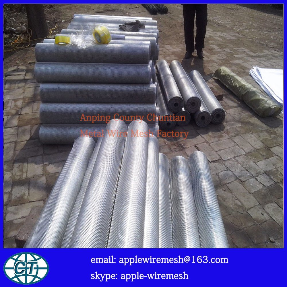 Expanded Steel Plate in Thickness 0.4mm to 4mm