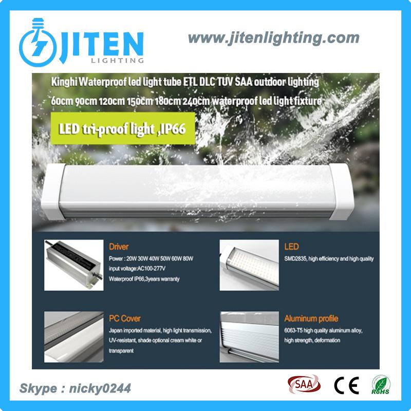 Tri-Proof LED Bar Tube Light, Water-Proof, Dust-Proof, Damp-Proof