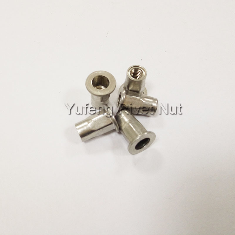 Stainless Steel Pan Head Half Hexagon Rivet Nut