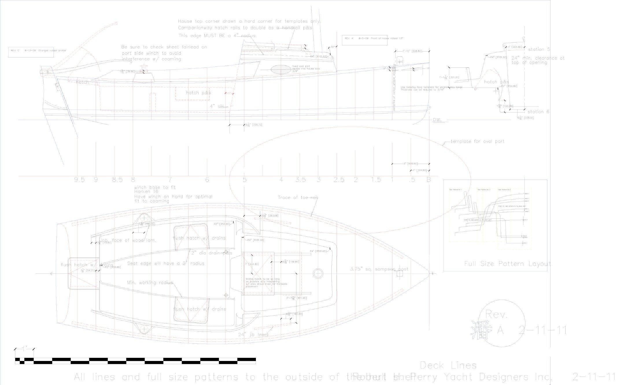 20′ Fiberglass Robert Perry Gaff Cutter Sailboat Sailing Yacht Hangtong Factory-Direct