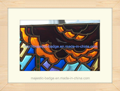 Stained Glass Hard Enamel Badge