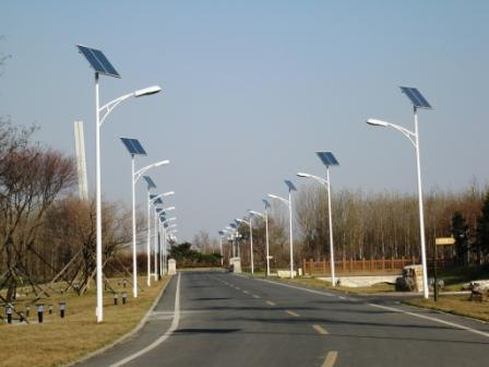 LED Solar Street Light with 6-7meter Pole Height