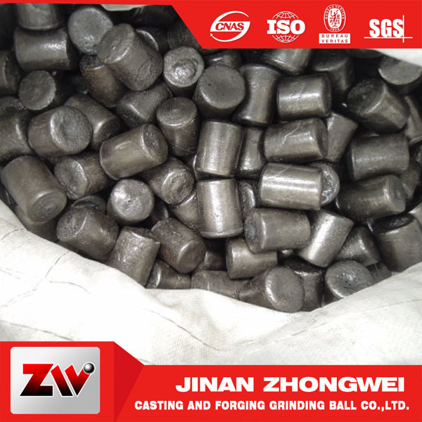 High Chrome Steel Grinding Media Balls and Cylpebs