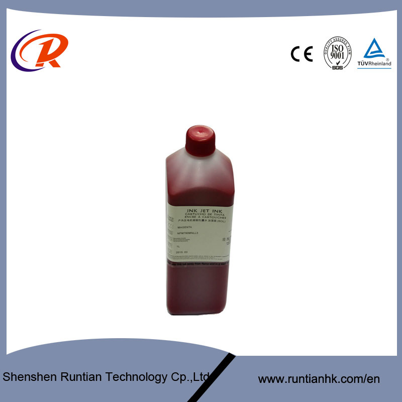 1L 5 Colors Eco Friendly Solvent Printing Ink for Dx5