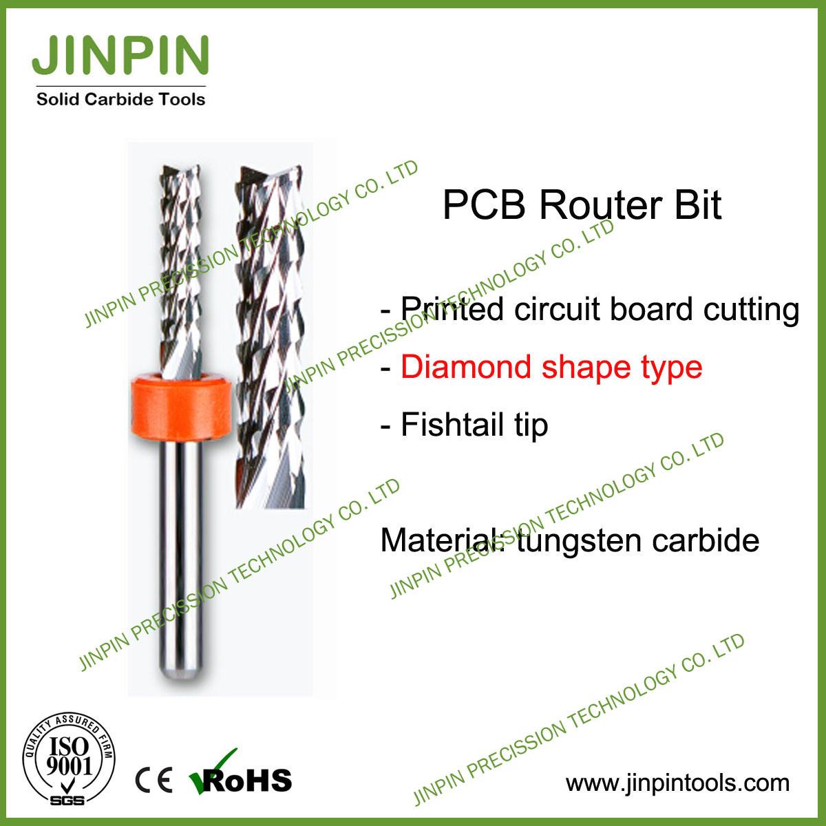 High Quality PCB Router Bit, PCB Corn End Mill