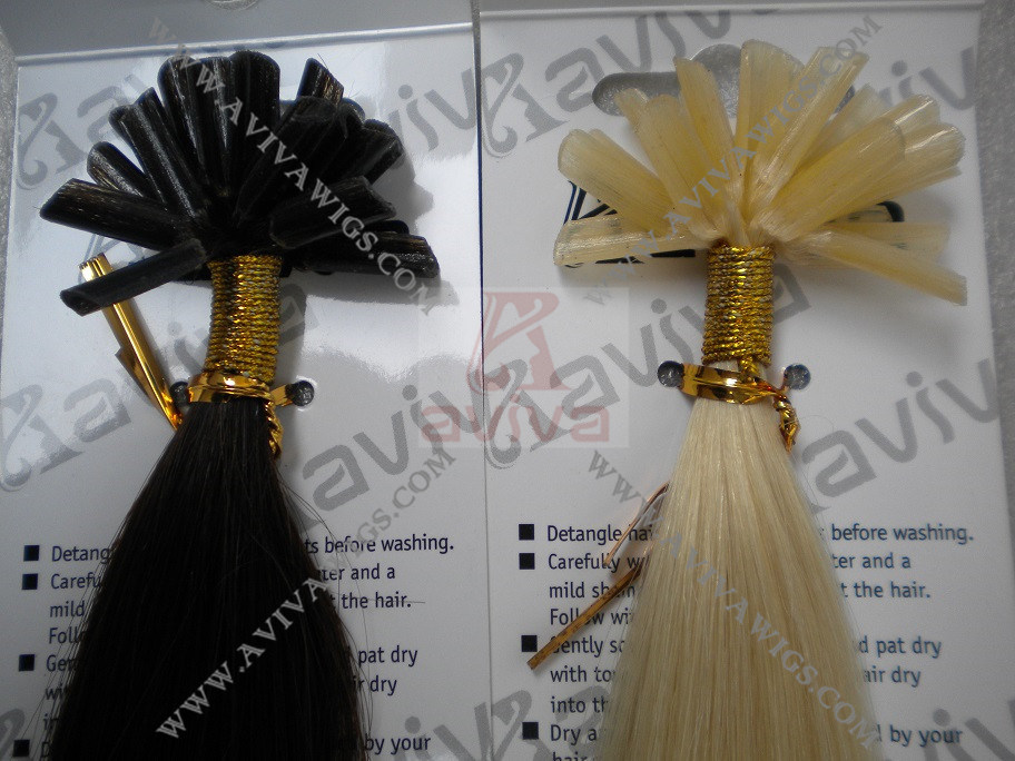 Nail Human Hair Extension