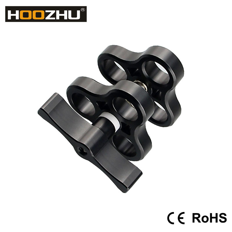 High Waterproof Hoozhu S02 Ys Diving Video Light Arms, Action Camera Ys Adaptor
