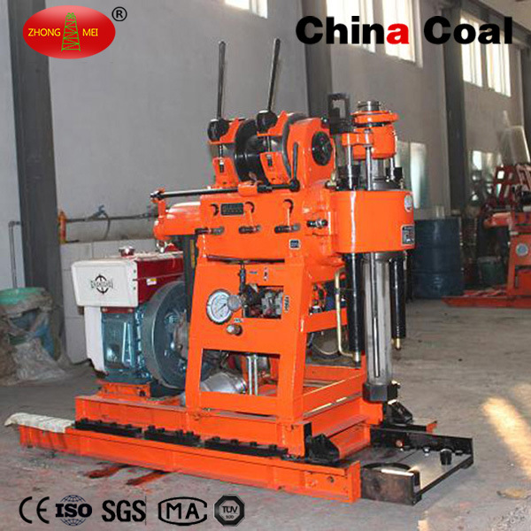 Portable Tractor Mounted Hydraulic Rotary Core Sample Drilling Rig