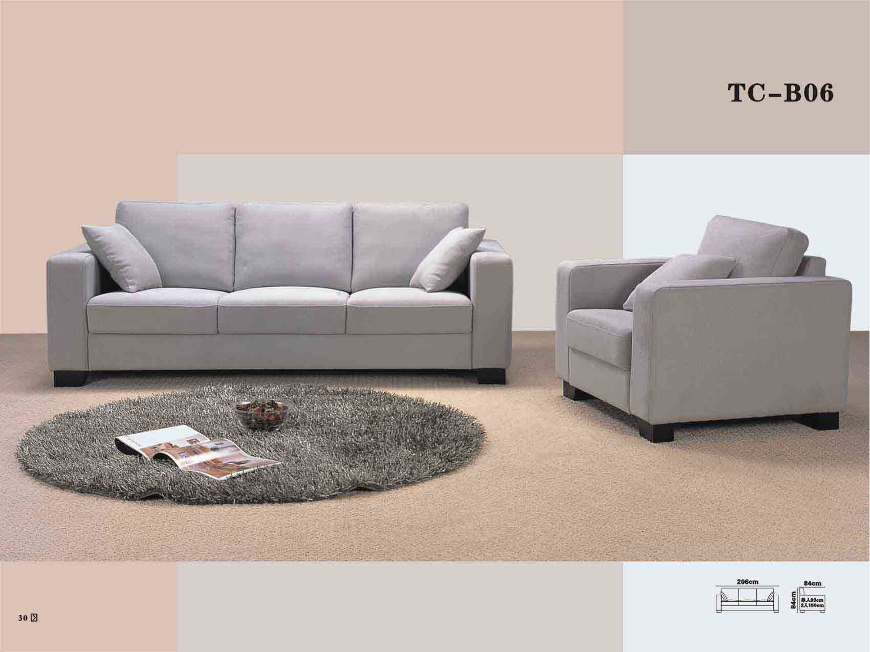 China Contemporary Modern Sofa Tc B06 China Sofa Fabric Sofa