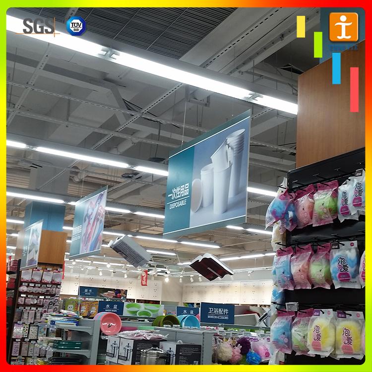 Advertising Promotion Hanging Banner for Supermarket