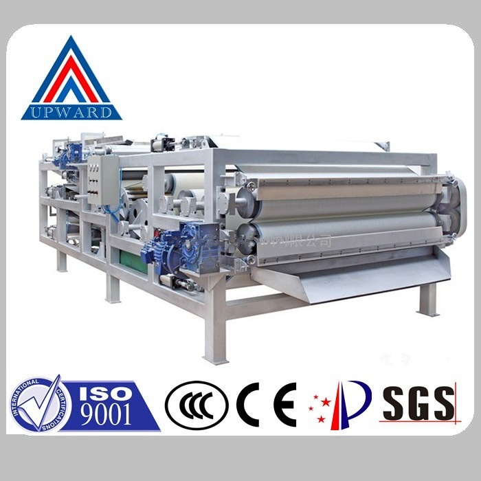 China Upward Brand Belt Filter Press Equipment Manufacturer